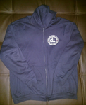 IDH: Iconic Zip-up Hoodie - Navy
