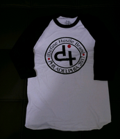 IDH: Iconic Logo Raglan T-Shirt - White & Black