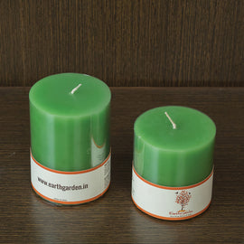 French Vanilla Scented Pillar Candles Online