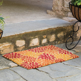 Outside Petals Coir Doormat Online