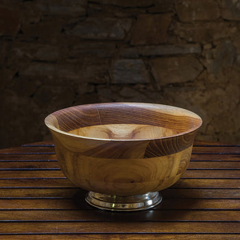 Teak Wood Salad Bowl