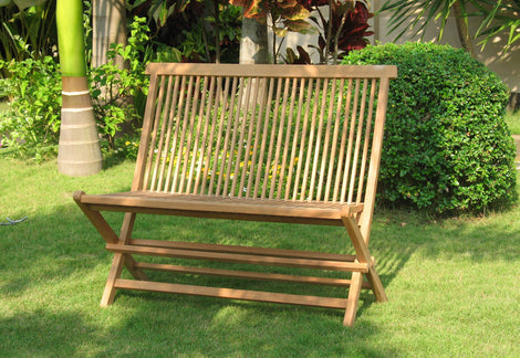 Bench With Seat Cushion
