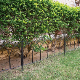Outside Steel Eden Park Fence Online (Set of 2)