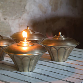 Decorative Lotus Oil Lamp Online
