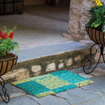 Outside Medallion Coir Doormat Online
