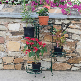 Pivoting Plant Stand (4 Pots Holder)