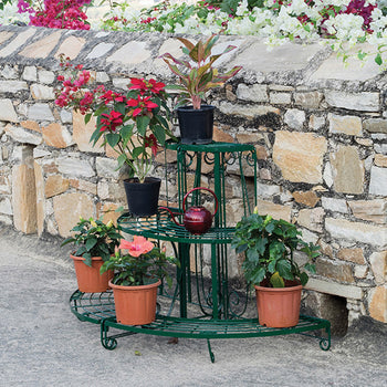 Quarter Round Etagere (Plant Stand)