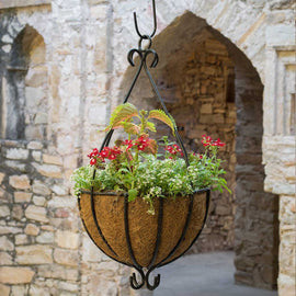Spanish Hanging Planters for Plants (with Cocoliner)