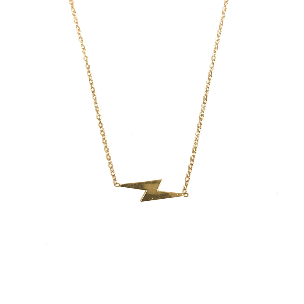 Large Lightning Bolt Necklace