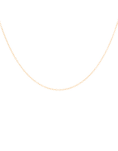 14K Gold Cable Chain Choker