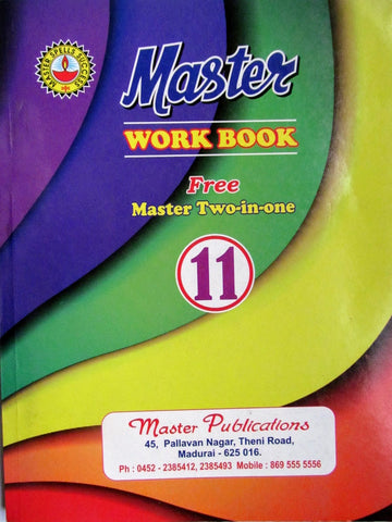 11 Master Work Book English