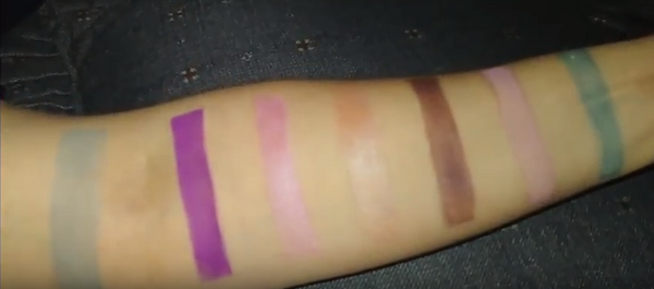 Swatch Video of Some of Our Loose Pigment Eyeshadows @tashcosmetics | Caralyn Beauty