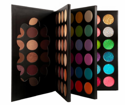 Black Book 72 Shade Palette - MQO 50 pcs