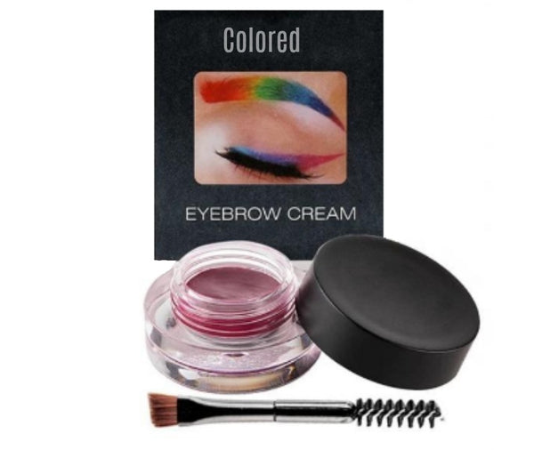 Private Label Colorful Eye Brow Gel - MQO 12 pcs