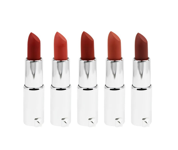 Moisturizing Matte Lipstick w/Multi Color Case - MOQ 12