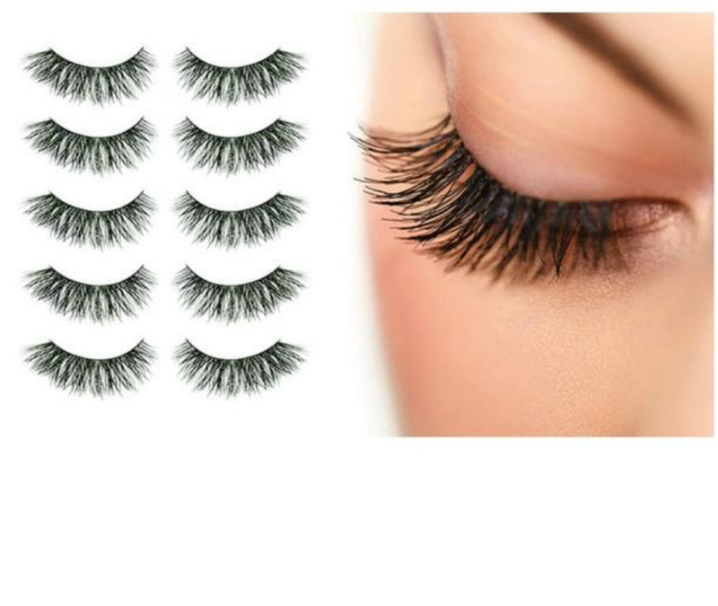 Be daring. Be Bold. Be Iconic.  They say the eyes are the windows to our soul...So why not dress'em up a bit? Our showstopping lashes combine a dynamic effect with various patterns, lending your soulful eyes the boldness of history's most celebrated beauties and trendsetters. Our lashes are individually handcrafted and made to last through multiple wears - 5-8 times on average, 8+ if well maintained.