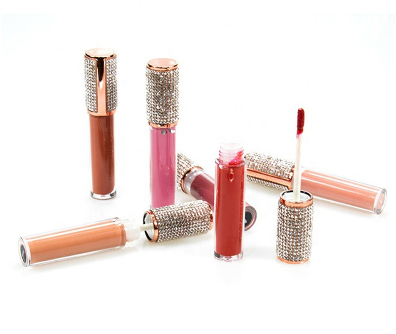 Diamond Bling Lip Gloss - MQO 12 pcs