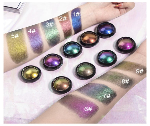 Duochrome Pressed Eyeshadow Singles - MQO 50 pcs