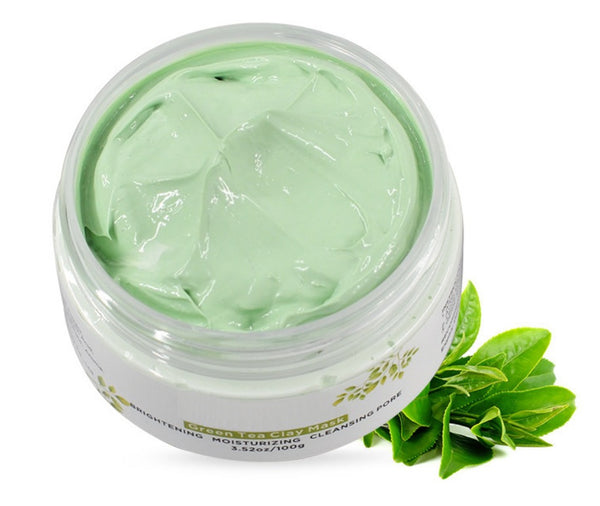 Amazon Aztec and Green Tea Clay Mask For Acne Skin - MQO 12 pcs