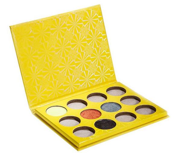 Yellow Case 12 Shade DIY Palette - MQO 50 pcs