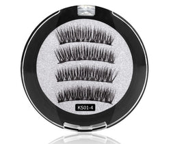 Magnetic Lashes Ks01-4  MQO 12 pcs