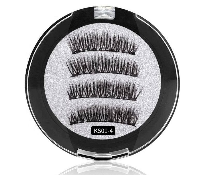 Magnetic Lashes Ks01-4  MQO 50 pcs