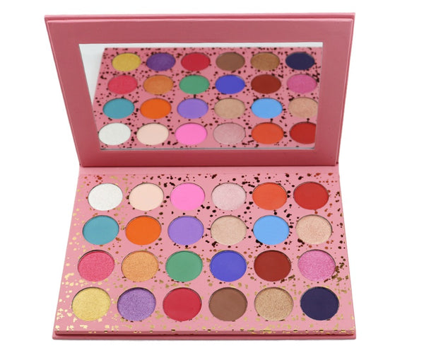 Pretty In Pink  24 Shade Palette - MQO 50 pcs