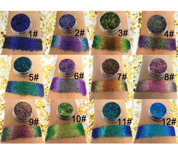Duochrome Loose Eyeshadow Singles - MQO 12 pcs