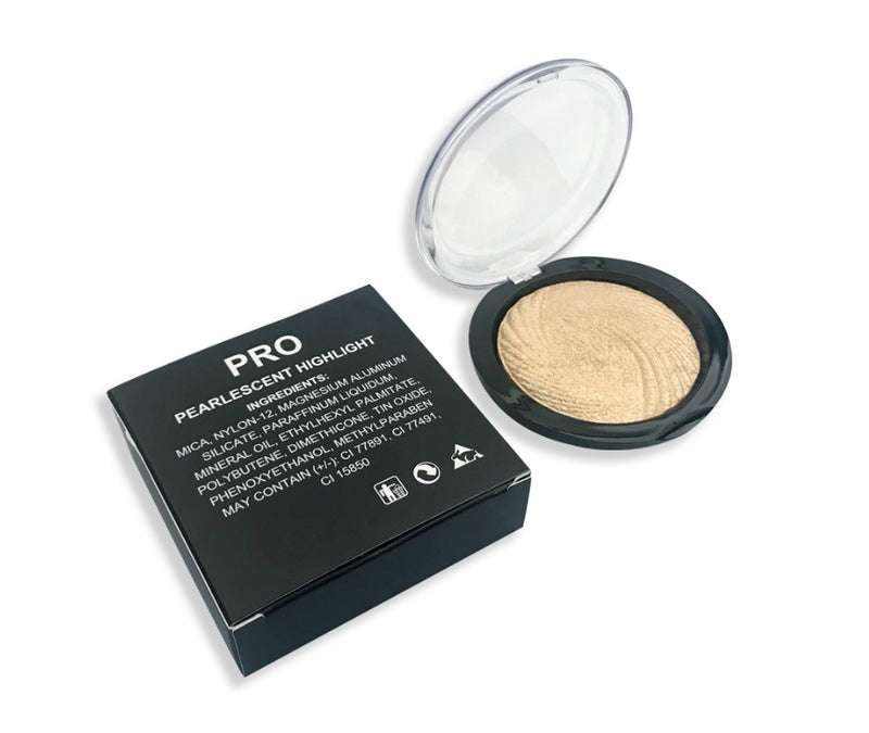 Three-dimensional Monochrome Pearlescent Highlighter - MQO 12 pcs