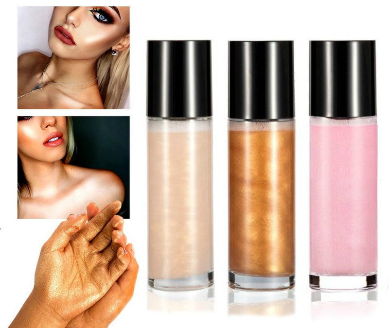 Bronze-Face and Body Shimmer Spray - MQO 50 pcs