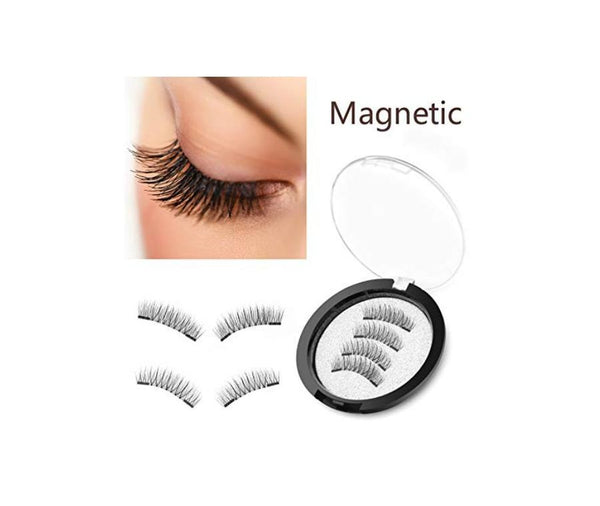 MAGNETIC LASHES W/3 MAGNETS #24P-3 MQO 50 PCS