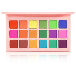 New Matte 18 Shade Palette - MQO 12 pcs