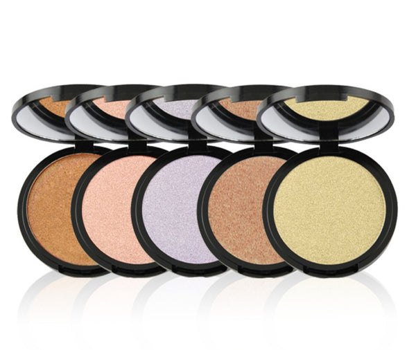 Pressed Mineral Highlighters - MQO 50 pcs