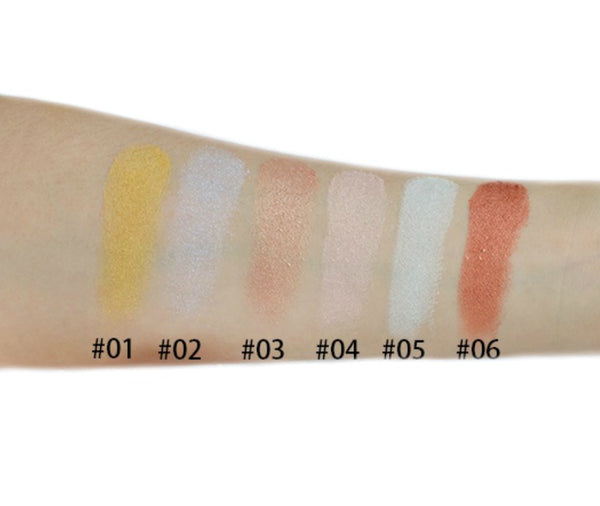 Pressed Shimmer Pigment Highlighters - MQO 50 pcs