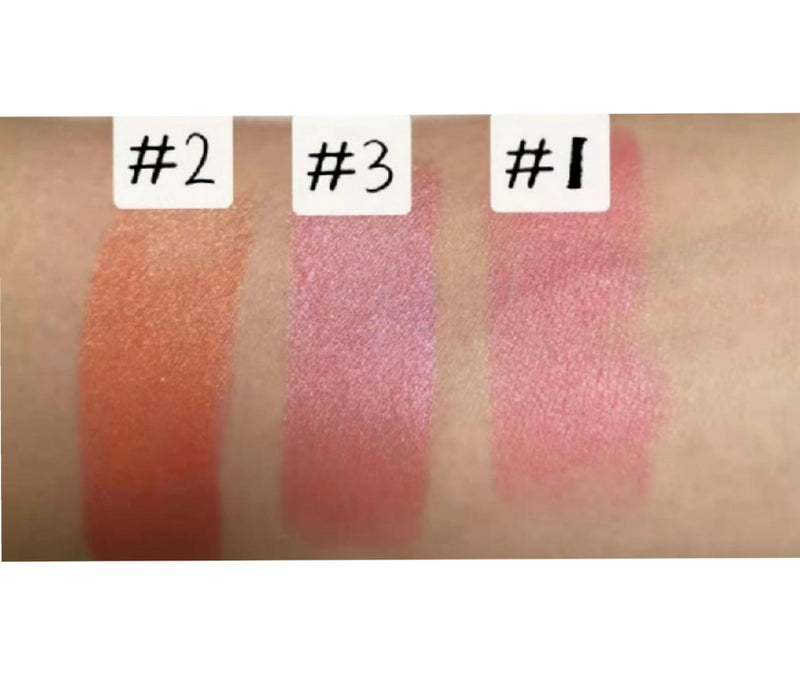 3 in 1 Cream Blush Stick - Multi-functional Lip & Eyeshadow - MQO 50 pcs