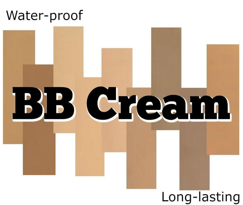 Waterproof Full Coverage BB Cream - Shade #2  MQO 50 pcs