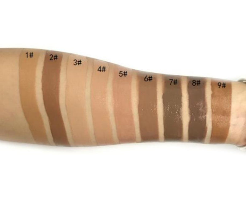 Waterproof Full Coverage BB Cream - Shade #8  MQO 50 pcs