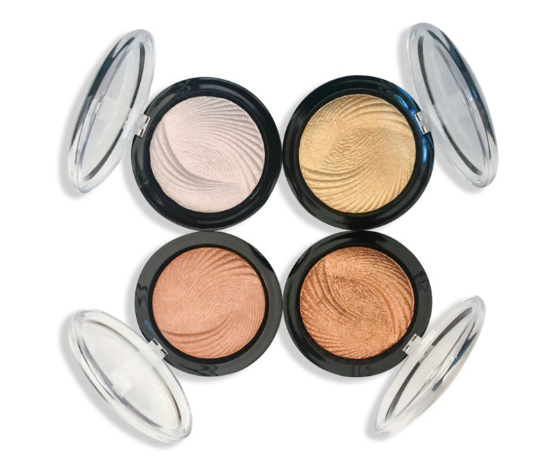 Three-dimensional Monochrome Pearlescent Highlighter - MQO 50 pcs