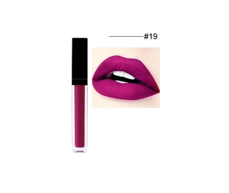 Lightweight Liquid To Matte Lipstick - MQO 12 pcs
