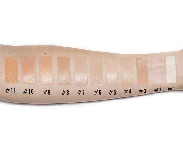 22 Shade Full Coverage Concealer - MQO 50 pcs