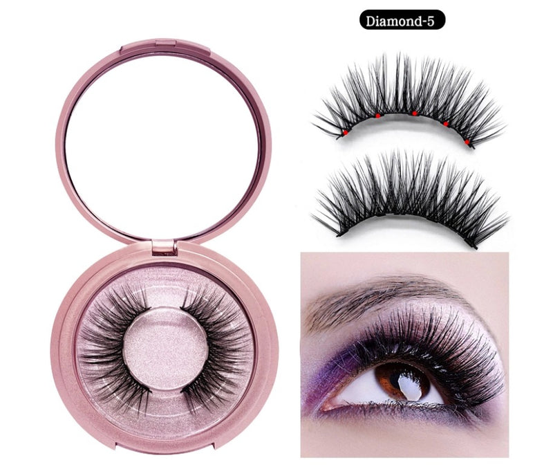 Magnetic Liner and Lash Kit - Diamond 5 Series - MQO 12pcs
