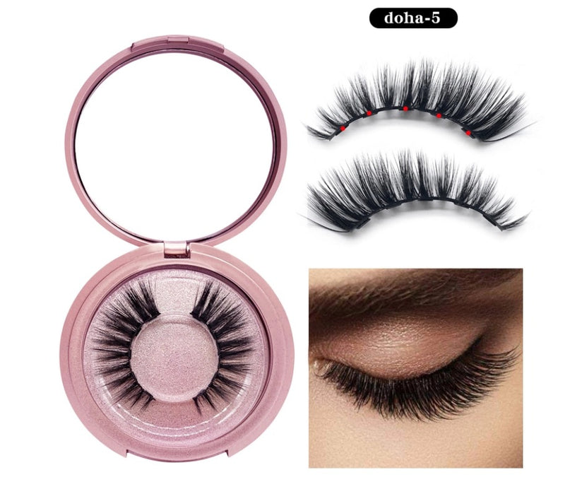 Magnetic Liner and Lash Kit - Doha 5 Series - MQO 12pcs