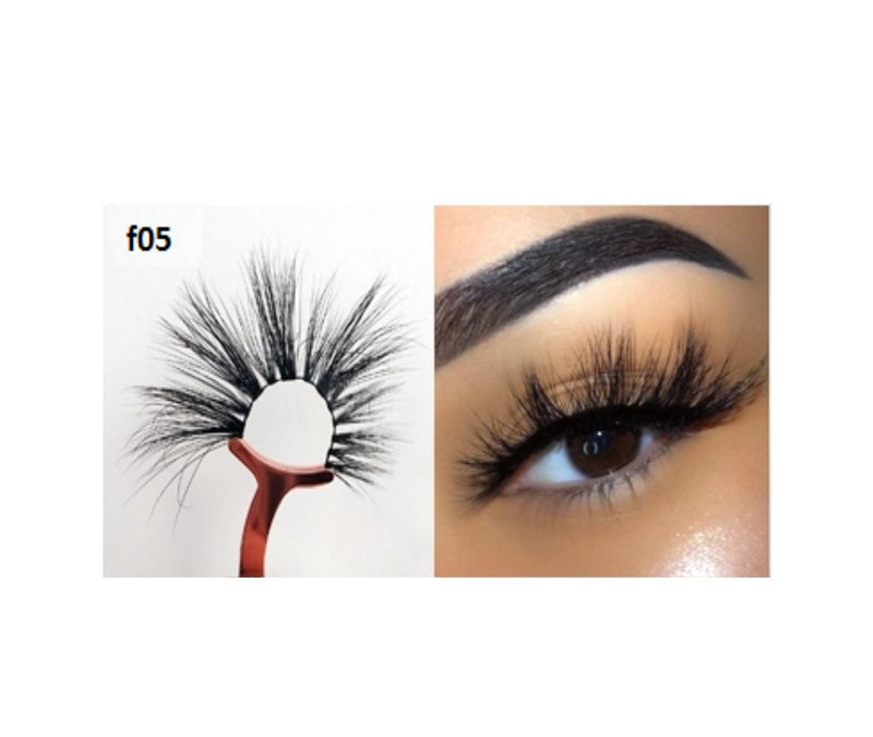 Faux Mink 5D Lashes #F5 - MQO 50 pcs