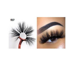 Faux Mink 5D Lashes #F7 - MQO 50 pcs
