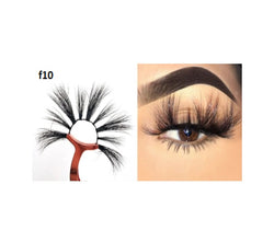 Faux Mink 5D Lashes #F10 - MQO 50 pcs