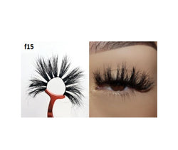 Faux Mink 5D Lashes #F15 - MQO 50 pcs