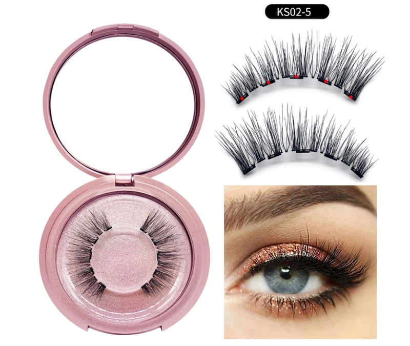 Magnetic Liner and Lash Kit - KS02 5 Series - MQO 50pcs