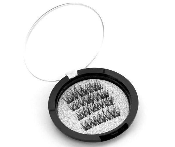Magnetic Lashes w/3 Magnets #KS06-3  MQO 50 pcs