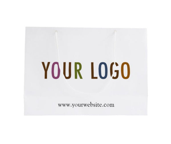 Large Custom Paper Shopping Bag with Logo
