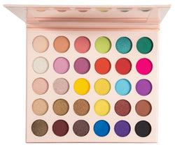 NEW 2020! 35 Shade Custom Logo High Pigment Eyeshadow Palette - MQO 50 pcs